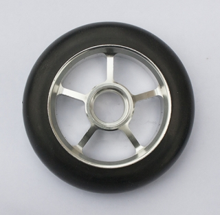 Колесо 100 мм с резиновой шиной особое, #2