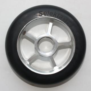 Колесо 100 мм с резиновой шиной 75А #1
