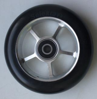 Колесо 100 мм с резиновой шиной 75А в сборе, #2