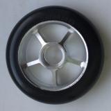 Колесо 100 мм с резиновой шиной 75А, #2